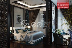 Vách ngăn phòng ngủ đẹp GVA21